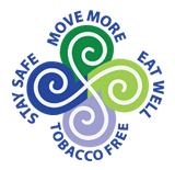 Move More, Eat Well, Stay Safe, Tobacco Free!
