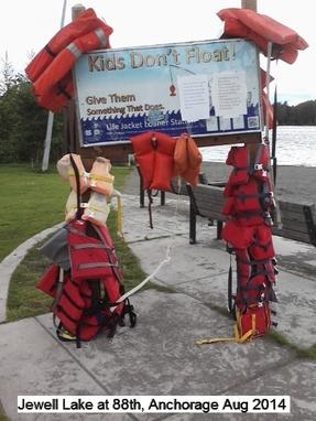 Alaska Kids Don't Float Program - Jewell Lake Loaner Board