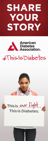 Share Your Story. #ThisIsDiabetes... this is up to you.