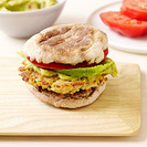 Mexican-spiced Crab Burger