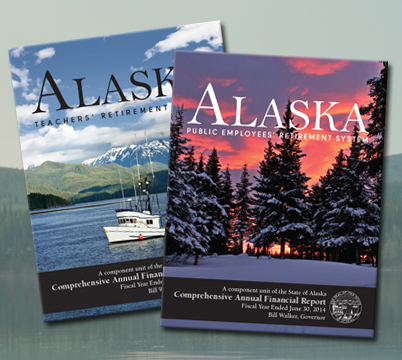 2014 CAFR covers