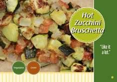Zucchini bruchetta