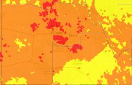 Heat Risk Map 6.4.17