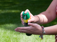 Insect Repellent Hand