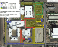 Map of Mesa juvenile campus
