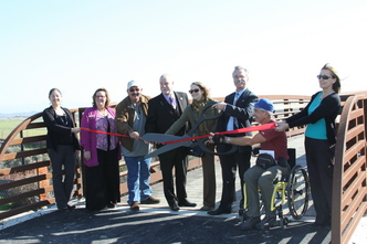 Arroyo Trail Ribbon Cutting 2013