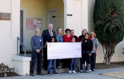 Mountain House School Check Presentation