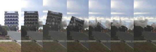 CSUEB Warren Hall Implosion