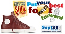 Back to School Shoe Giveaway