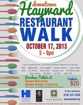 Hayward Restaurant Walk