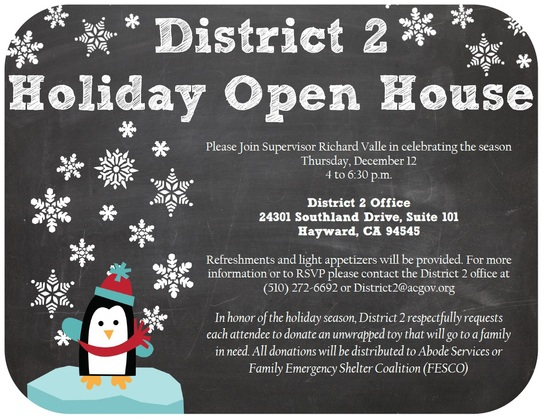 District 2 Holiday Open House
