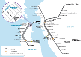 BART Transbay Closure