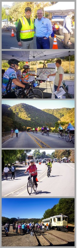 Niles Canyon Collage