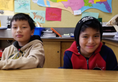 Two Manzanita Students