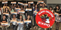 Black College Expo Photo and Logo