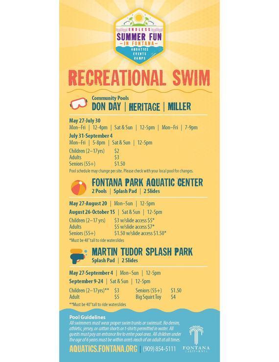 Recreational Swim
