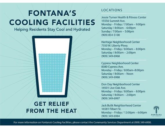 Fontana's Cooling Facilities