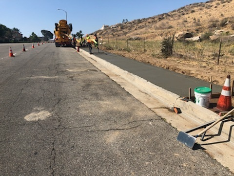 Public Works Slurry Seal Project