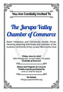 Chamber Installation event