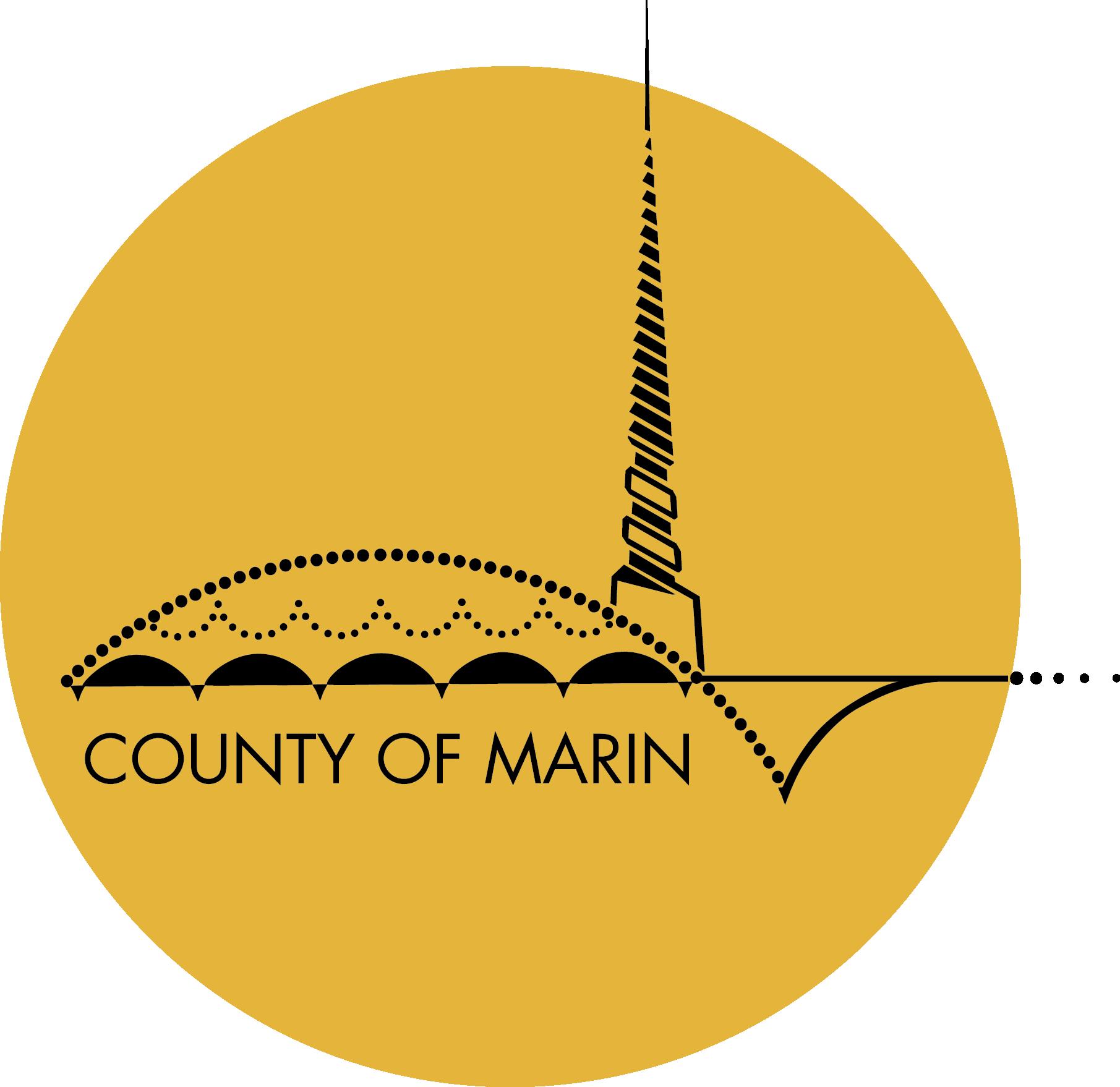 County of Marin Gold Seal Logo