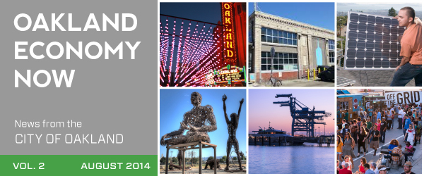 Oakland Economy Now - August 2014