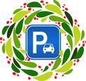 Oakland parking wreath