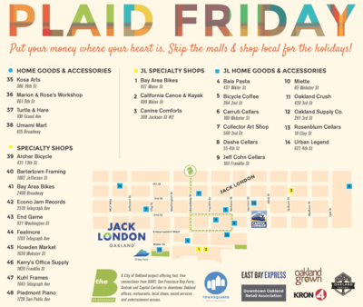 Plaid Friday Map