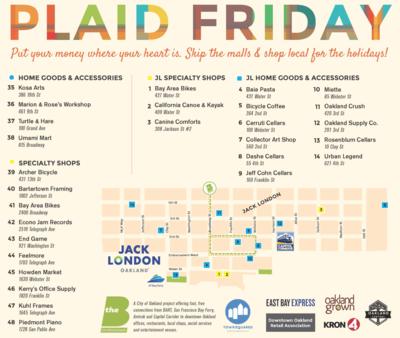 Plaid Friday Map
