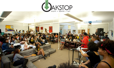 Oakstop photo and logo