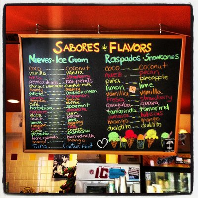 Photo of NIeves Cinco de Mayo Ice Cream flavors