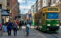 Tram street in Helsinki_City Clock Magazine