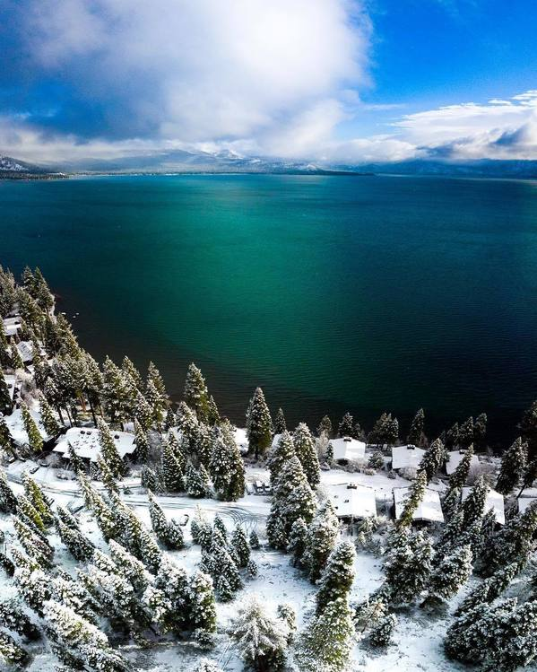 Photo of the week. Image of Lake Tahoe.