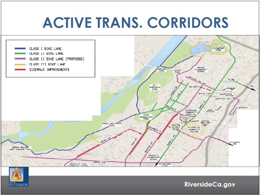 ACTIVE TRANS CORRIDORS