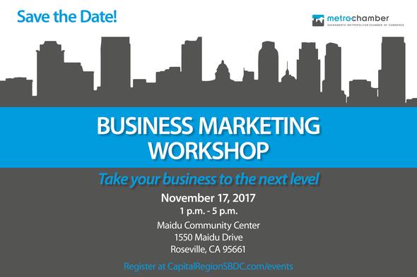 Business Markting Workshop