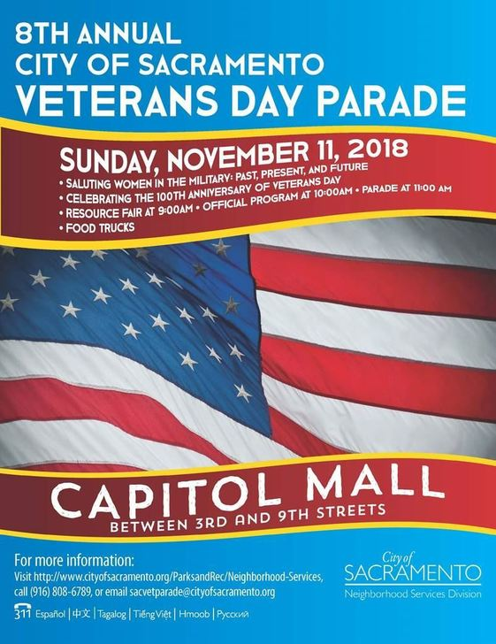 Veteran day parade