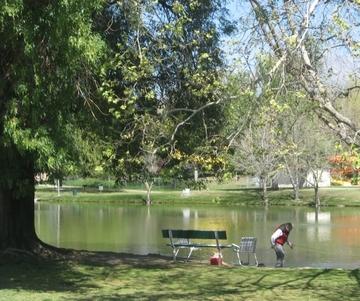 Hagman july edition for Guasti park fishing