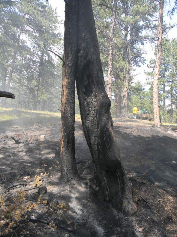 ground fire