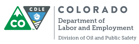 colorado department of labor and employment - division of oil and public safety