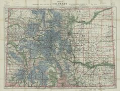 Nell's Historical Map of Colorado