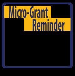 Micro-Grant SavetheDate - Apply in December