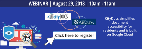 Webinar with CityDocs for shared services