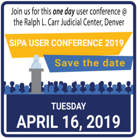 Save the date for the SIPA User Conference April 16
