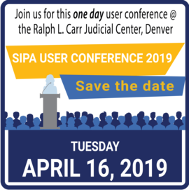 User Conference April 16, 2019 reminder