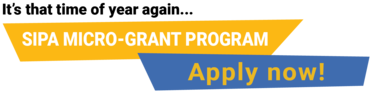 SIPA Micro-Grant now open - apply today!