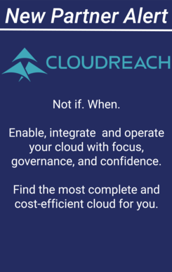 New partner Alert - Cloud Reach