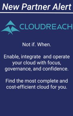 New partner Alert - Cloud Reach
