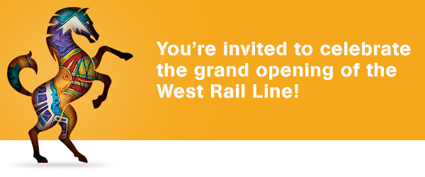 West Rail Grand Opening Header