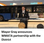 WMATA partnership with DC