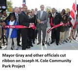 Joseph H. Cole Community Park Ribbon Cutting