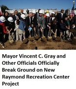Raymond Recreation Center Groundbreaking
